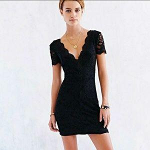 New Urban Outfitters Kimchi Blue Black Mini Dress